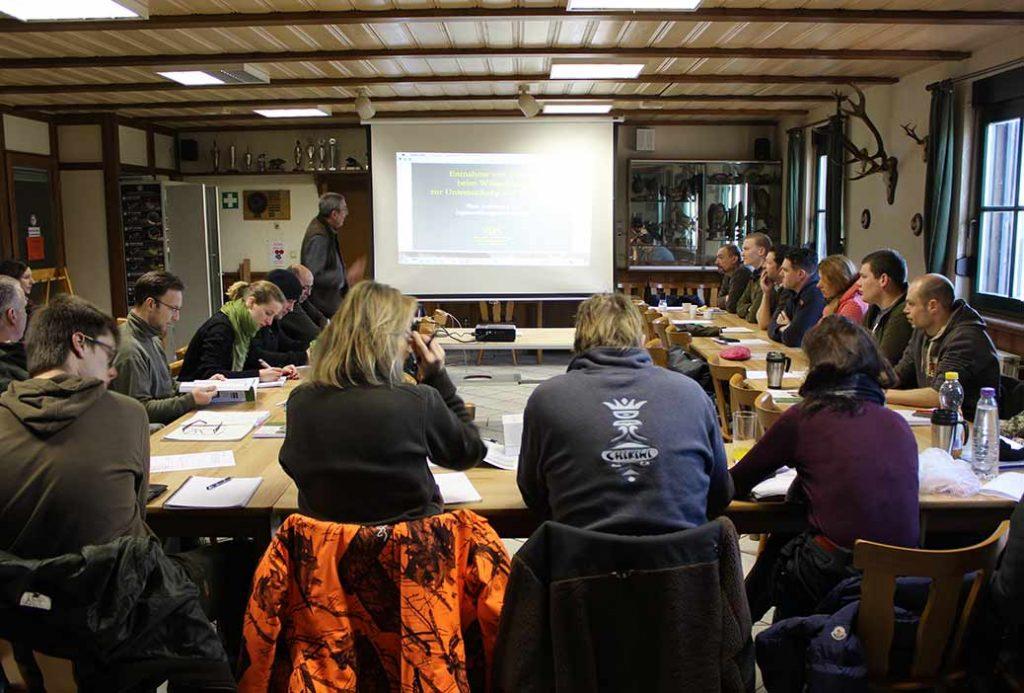 Jägerinnen- und Jägerausbildung der Jägervereinigung Marburg