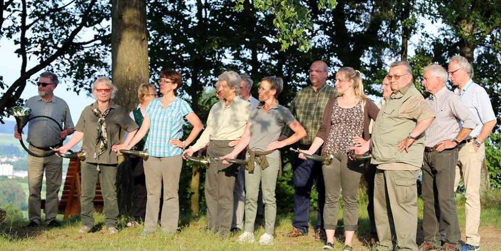 Jagdhornbläsergruppe der Jägervereinigung Marburg