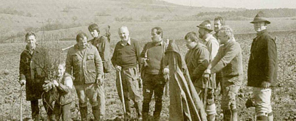 Die junge Jägervereinigung Marburg betreibt aktiven Naturschutz